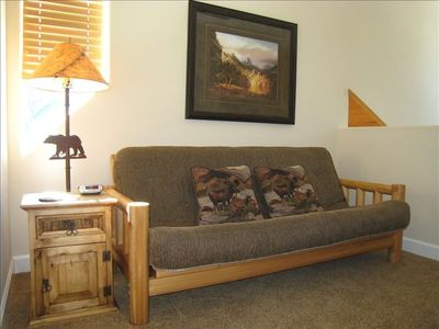 Loft with Daybed, Flat Screen TV and DVD/VCR/CD Player, Mountain Views