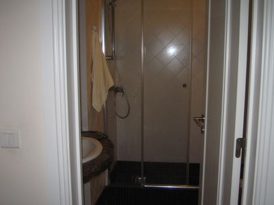 3rd bathroom with double walk in shower