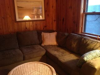Dewey Beach house photo - Den with Sectional Sleep Sofa