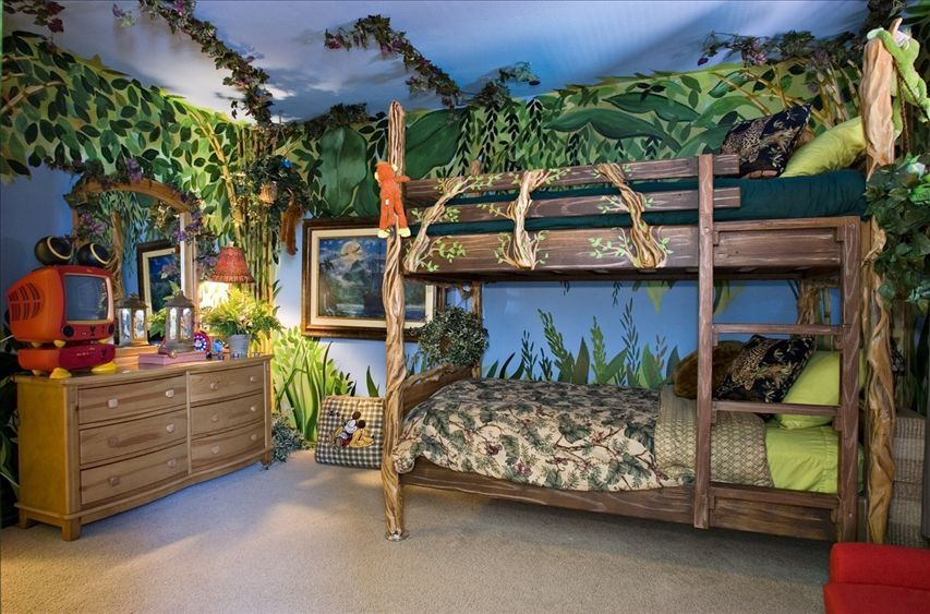 Pirate or space ships, castle and many other fairy tale type themes are  applied to create novelty bunks. In these beds it is tried to copy the theme  to the ...