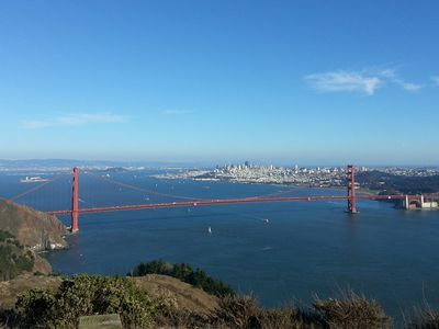 Stay at West Coast Villa and visit San Francisco and the Golden Gate Bridge