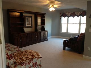Manistee condo photo - Lower level living area with futon, day bed with trundle