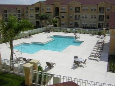 Orlando condo rental - Cool and inviting pool