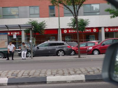 Burger King & VIPs restaurant at 100 meters