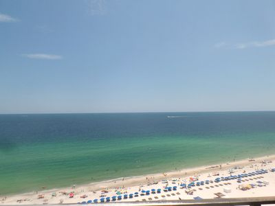 Enjoy these amazing views of the white, sandy beaches of Orange Beach!