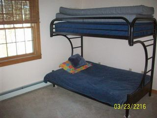 Thornton house photo - fourth bedroom with bunk bed