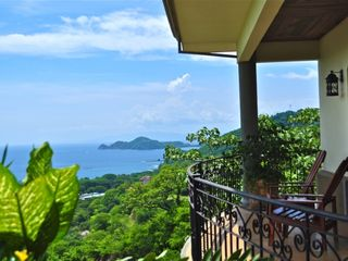 Playa Hermosa villa photo - View of Gulf of Papagayo from Upper Balcony