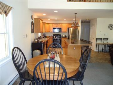 Fully equipped kitchen with separate island/seating area & optional Beer Meister