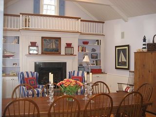 Kennebunkport house photo - Keeping Room Dining Area