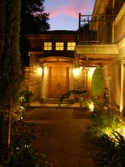 Lafayette villa photo - Villa Toscana at night