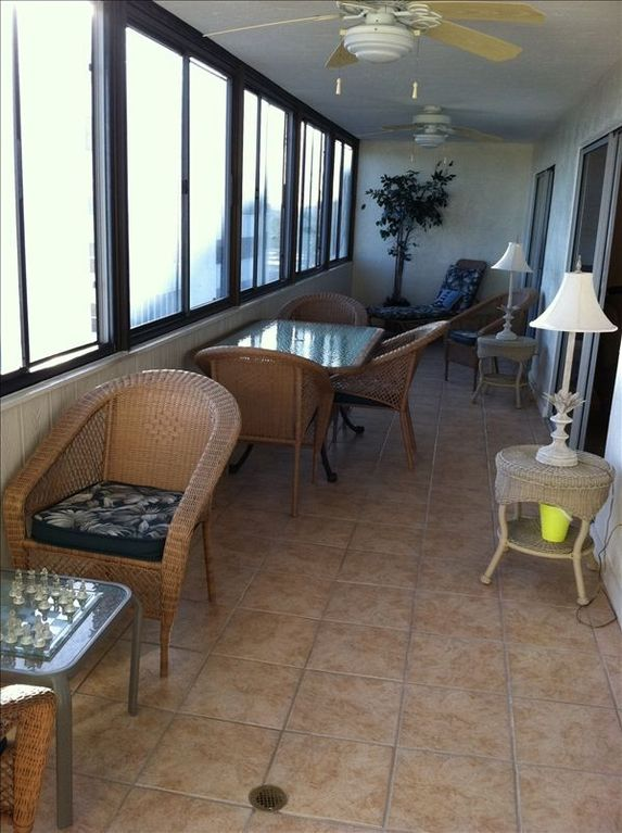 Lanai porch off living area