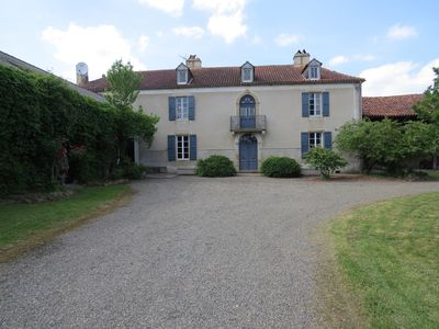 Large Restored Gascony house with Pool in Rural Setting