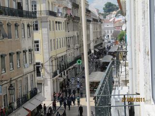 Baixa apartment photo - View from the app. - rua Augusta