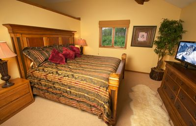 Your spacious Master Bedroom!