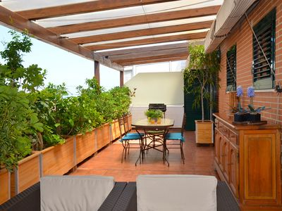 penthouse, pool, roof terraces, 3 bedrooms, internet conexion, airco, bbq