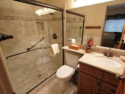 Both master and guest bathrooms are newly remodeled!