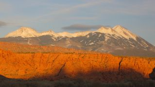 Moab townhome photo - The La Sal Mtns Utah's 2nd highest mtn range. 9 peaks that rise above 12,000ft.