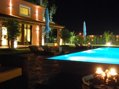 Kyparissia villa rental - Pool
