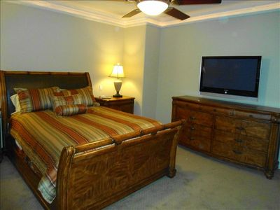 Third Guest Bedroom equipped with Flat Screen Television