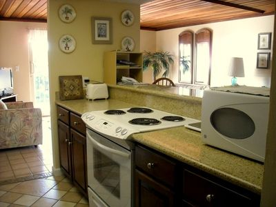 Well equipped kitchen with new appliances