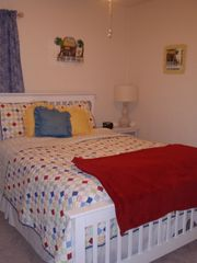 New Smyrna Beach cottage photo - Comfy bedroom number 2.