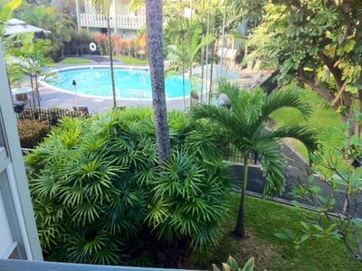 View of the Pool from your lanai.