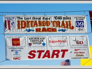 Houston cabin photo - The official Iditarod start in Willow Alaska which is 8 miles from my home.