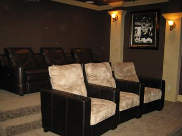 Theatre Room with 250 DVDs