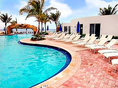 Pool at the Trump International Beach Resort