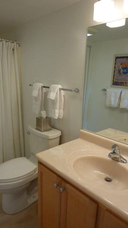 Partially updated downstairs bath. Additional renovations in near future!