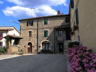 Holiday house on a farm, a few minutes from the Abbey of San Galgano