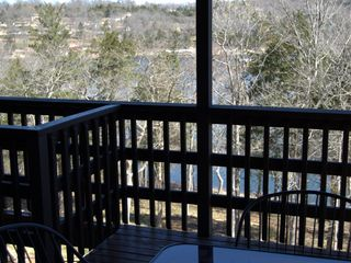 Branson cabin photo - Lazy Bear Log Cabin / Look at lake view on left!