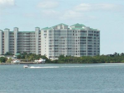 View of condo building