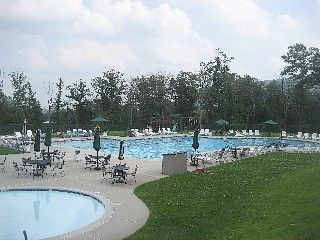 Tannersville house photo - Community outdoor pool (complimentary access for our guests)