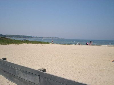 Megansett Beach on the bay