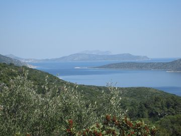 View to Marine Park Islands near Steni Vala