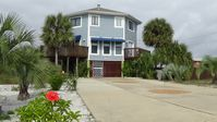 Beautiful Vacation Beach House with heated pool, hot tub, large wrap around deck