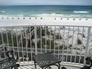 Fort Walton Beach condo photo - Island Princess 408 -Balcony