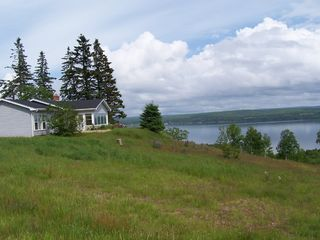 Baddeck house photo - Hollyday Cove over looking Bras d'or Lake