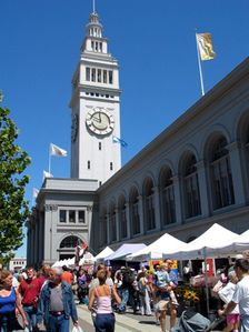 Ferry Building Farmer's Market ~Stroll the aisles and enjoy the waterfront view