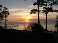 Sapelo-Bay Front with Beautiful Private White Sandy Beach and Dock in Plantation