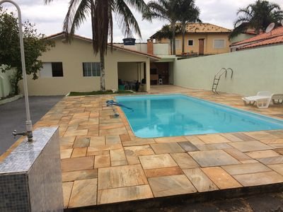 *** PROMOTION *** Beautiful Home with Pool PERUIBE- SIDE BEACH- ARPOADOR