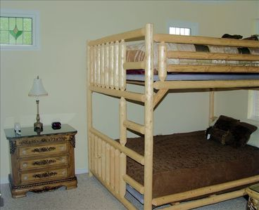 Double Queen Bunk Bed