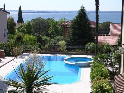 Apartments with swimming pool and air conditioning in ancient villa