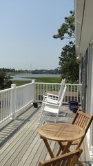 West Dennis house photo - Panoramic View from Backyard at High Tide