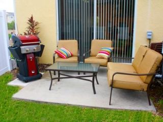 Crestwynd Bay townhome photo - Outside seating and BBQ