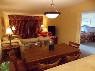 Grand Atlantic condo photo - Spacious living room and dining area!