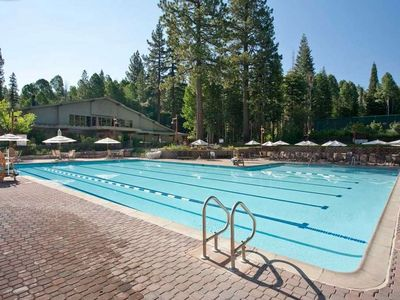 Northstar recreation center - private club. Summer adults. Open in winter.