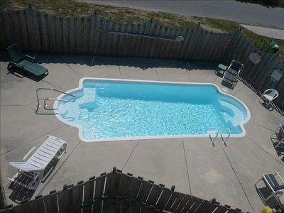 Swimming, Relaxing at the Pool - 12 ft. X 28 ft.- Lighted for evening swimming
