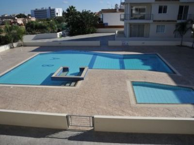 Cape Greco villa rental - Eucalyptus Suite - Communal Pool